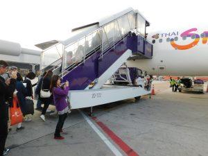 バンコク スワンナプーム空港で乗り継ぎ
