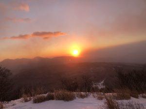 2021年 小浅間山からの初日の出